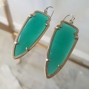 Kendra Scott Sky earrings - green